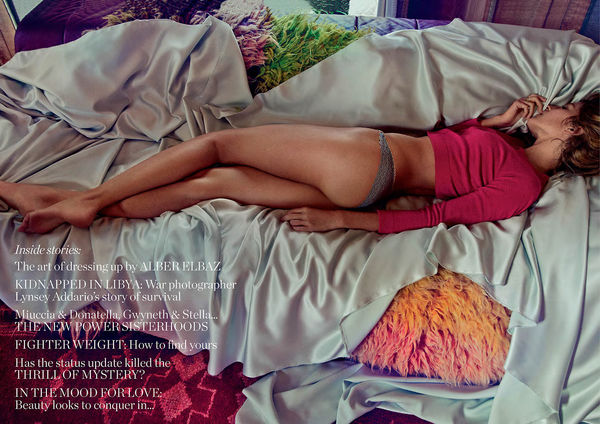 Sleepy Supermodel Editorials