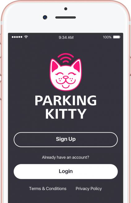 Meowing Parking Apps