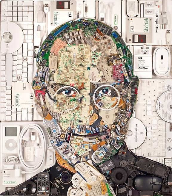 Tech Leader E-Waste Portraits