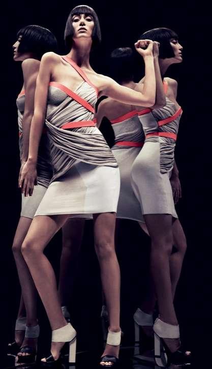 Self-Reflective Fashion Campaigns