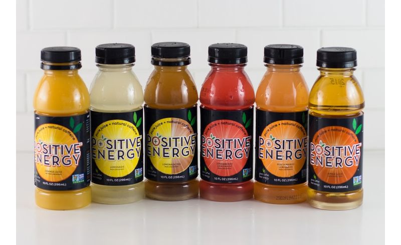 Caffeinated Fruit Juices Positive Energy