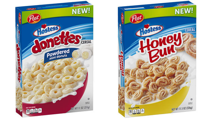 Snack Cake-Inspired Cereals
