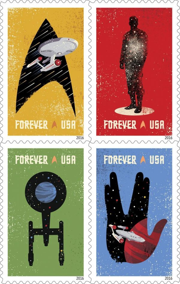 Galactic Sci-Fi Stamps