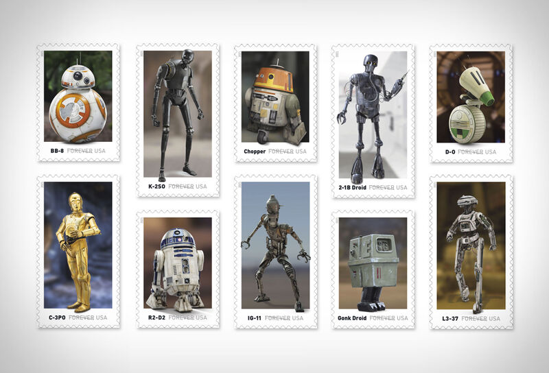 Sci-Fi Stamp Collections