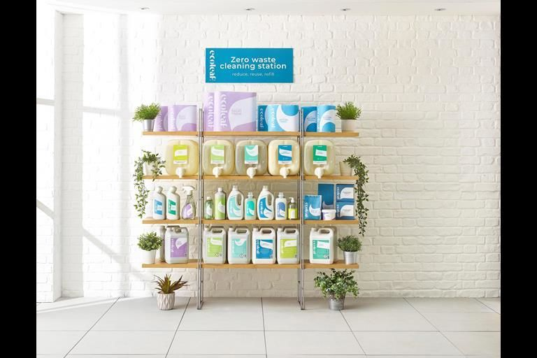 Recycled Cleaning Product Packaging