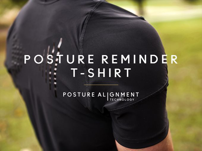Discreet Posture-Correcting Shirts