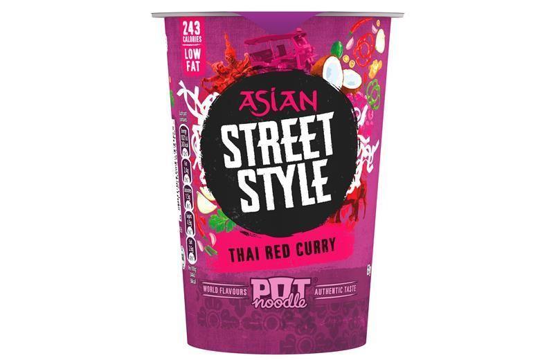 International Flavor-Inspired Instant Noodles
