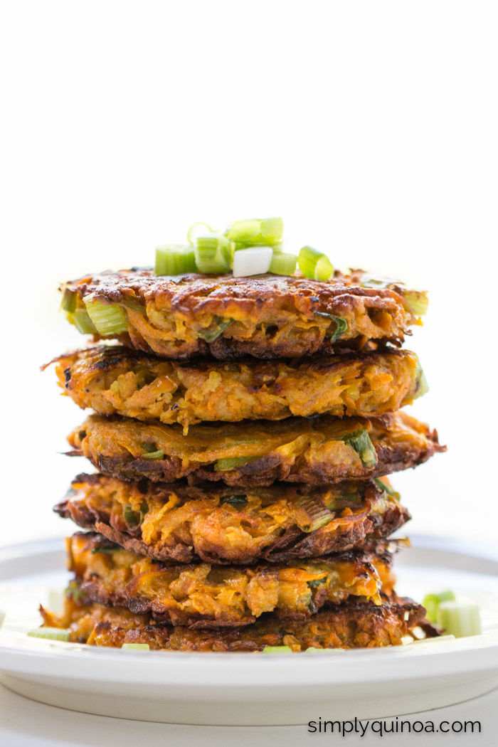Superfood Potato Fritters