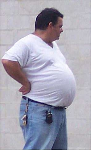 Man Belly Glorification