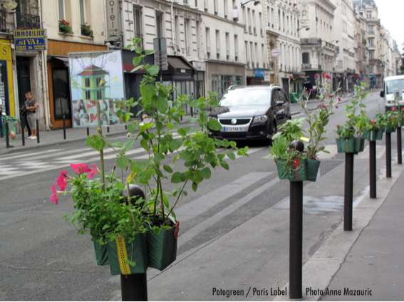 Parking Post Planters Potogreen By Paule Kingleur