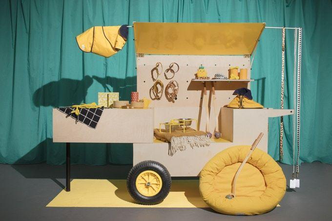 Pop-Up Shop Carts
