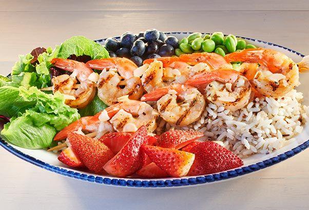 Seafood Chain Veggie Bowls