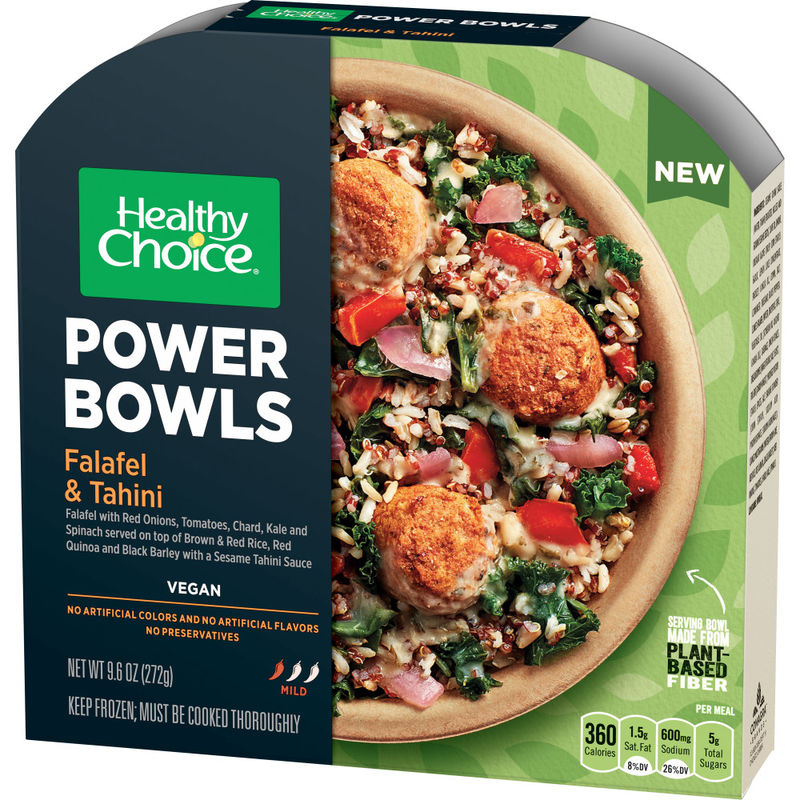 Microwaveable Vegan Meals