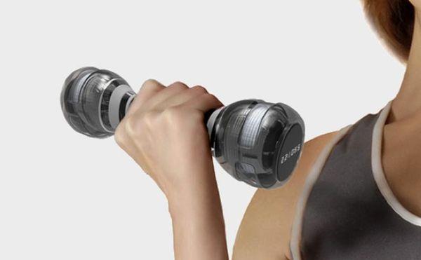 Mass-Adjusting Free Weights