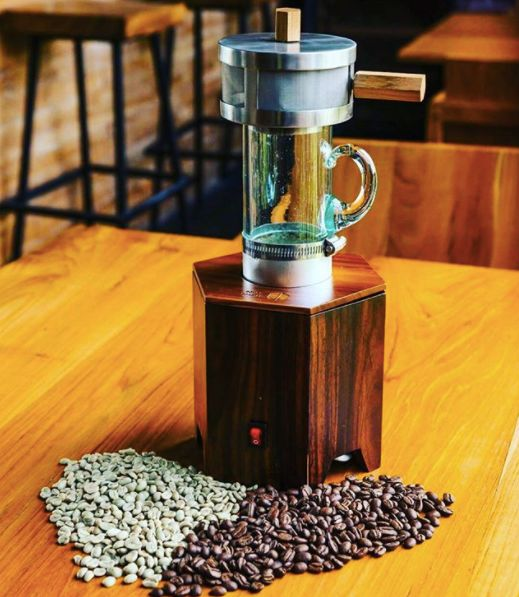 Automated Coffee Bean Roasters