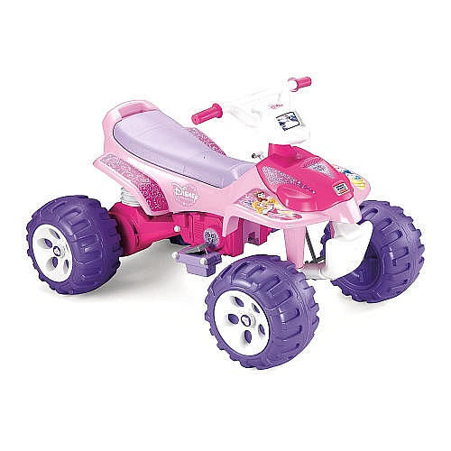 Princess-Themed Power Vehicles