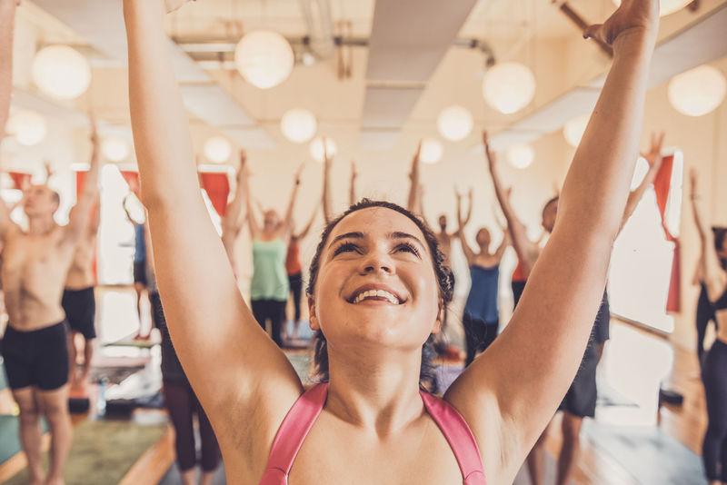 Community-Centric Yoga Studios