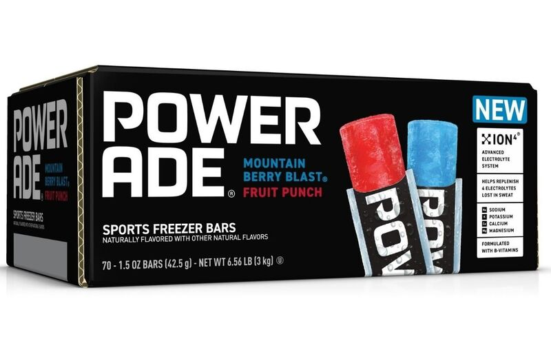 Frozen Sports Drink Refreshments