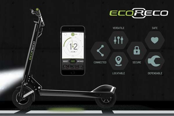 App-Connected Scooters