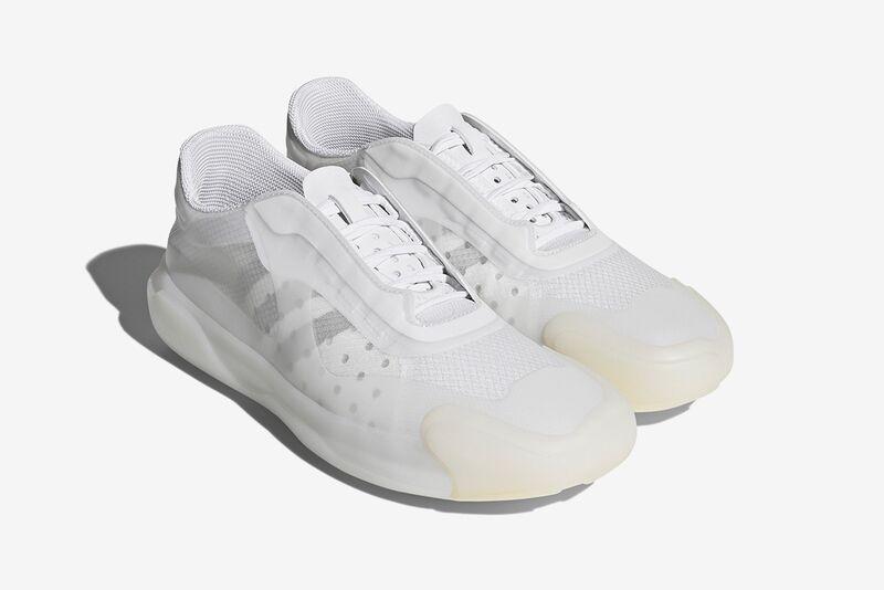 Futuristic Boat-Inspired Sneakers