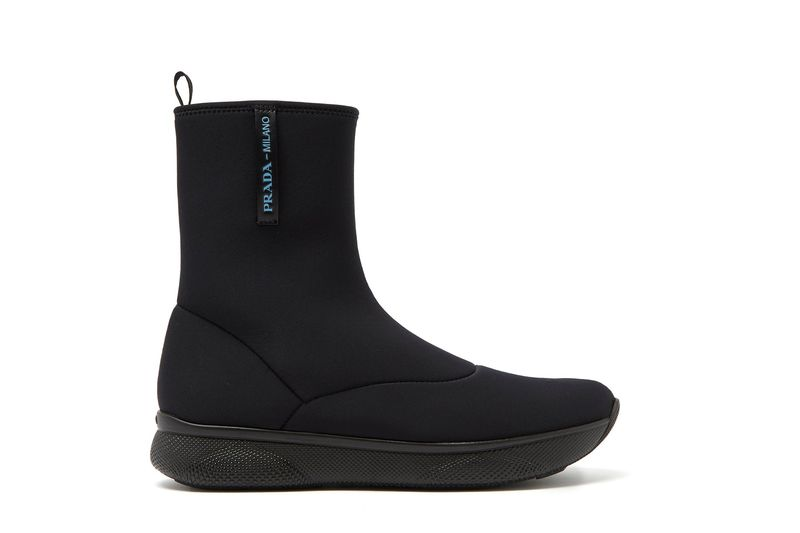 Luxe Neoprene Ankle Boots