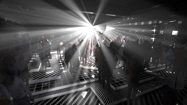 Dual-Spaced Nightclub Installations