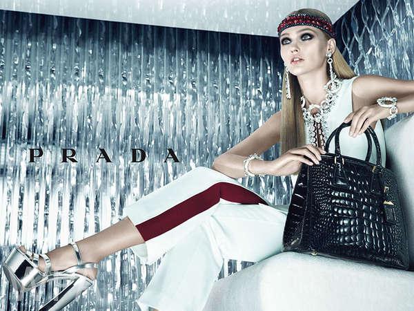 Icy Chic Fashion Ads