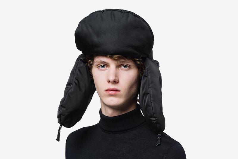 Extravagant Luxe Nylon Headwear