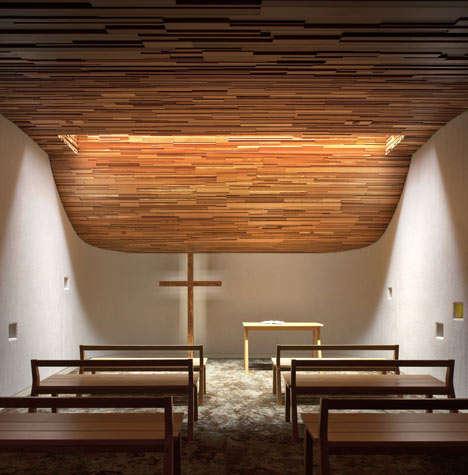 Undulating Ceiling Chapels