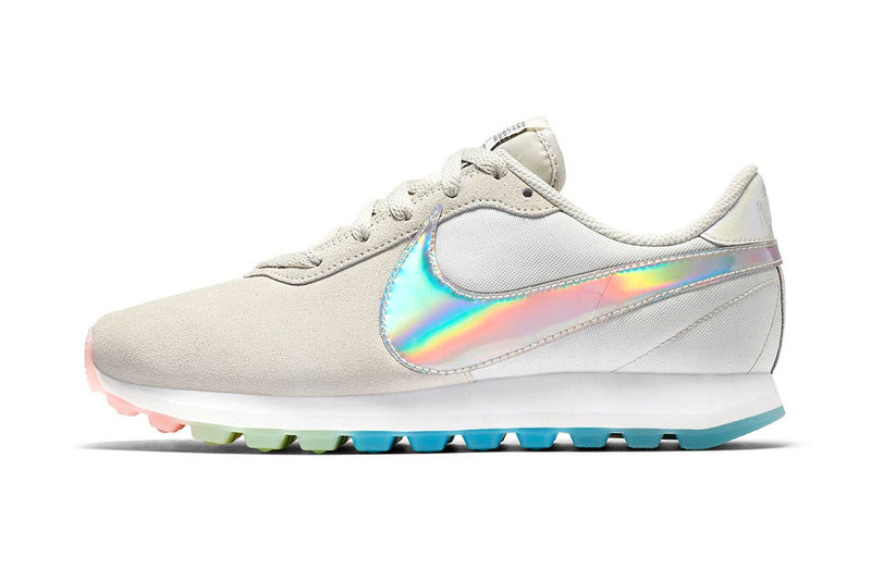 Sleek Rainbow Sneakers