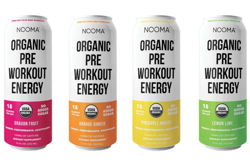 Organic Pre-Workout Drinks