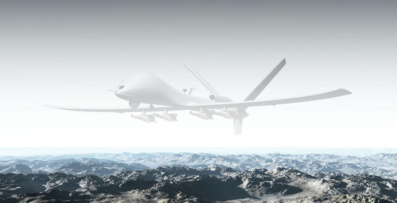 Invisible Military Drones