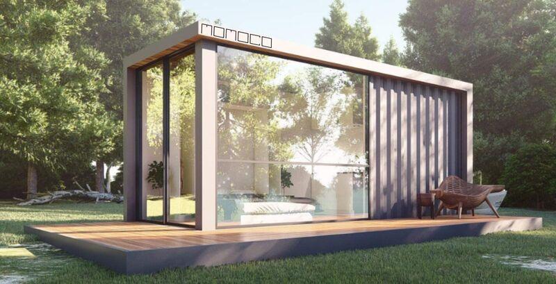 Industrially Modern Prefab Homes