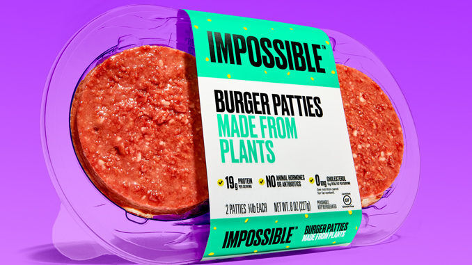 Packaged Plant-Based Burgers