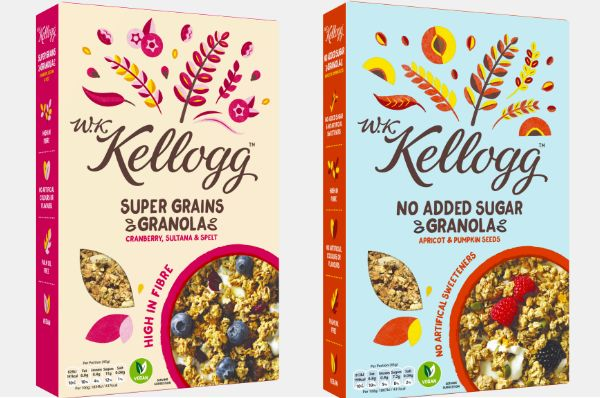 Heritage-Inspired Premium Cereal Lines