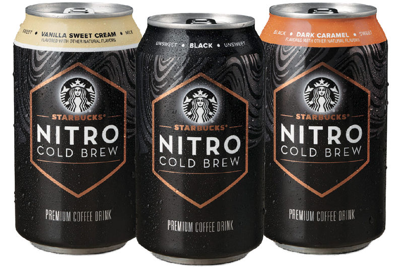 Cafe-Style Cold Brew Cans