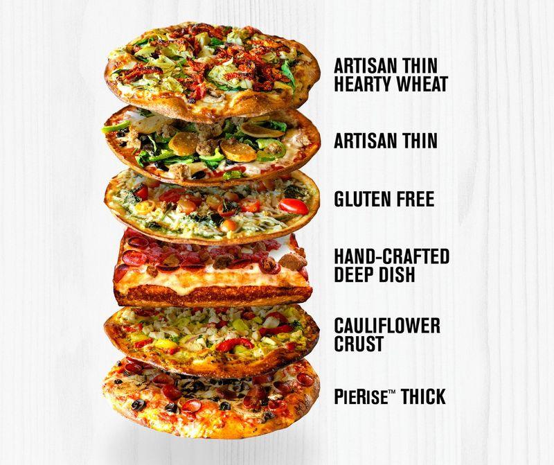 Customizable Pizza Pie Crusts