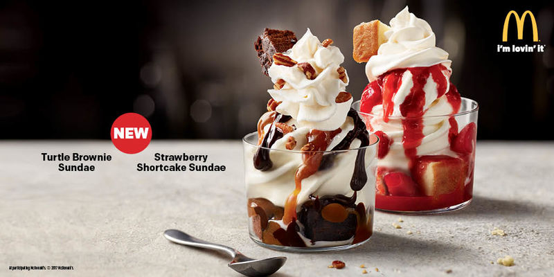 mcdonalds turtle brownie sundae - 800×400