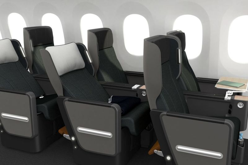 Enhanced Storage Airplane Seats
