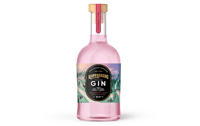 Double-Distilled Strawberry Lime Gins