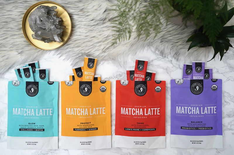Enriched Matcha Lattes