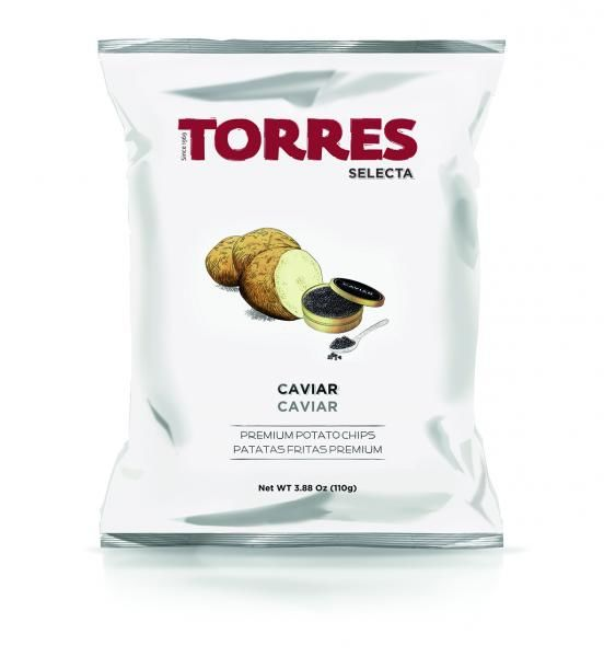 Caviar-Flavored Potato Chips
