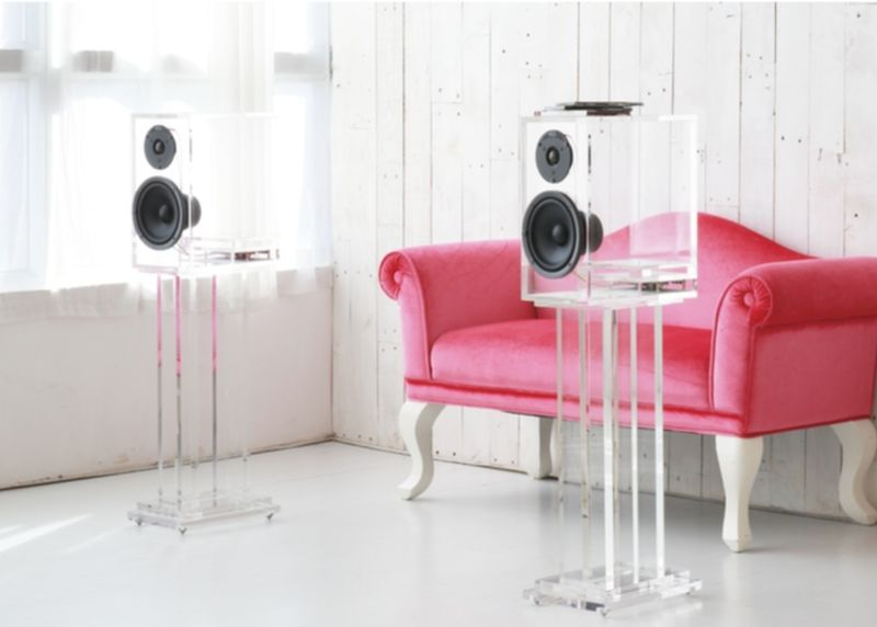 Transparent Premium Speakers