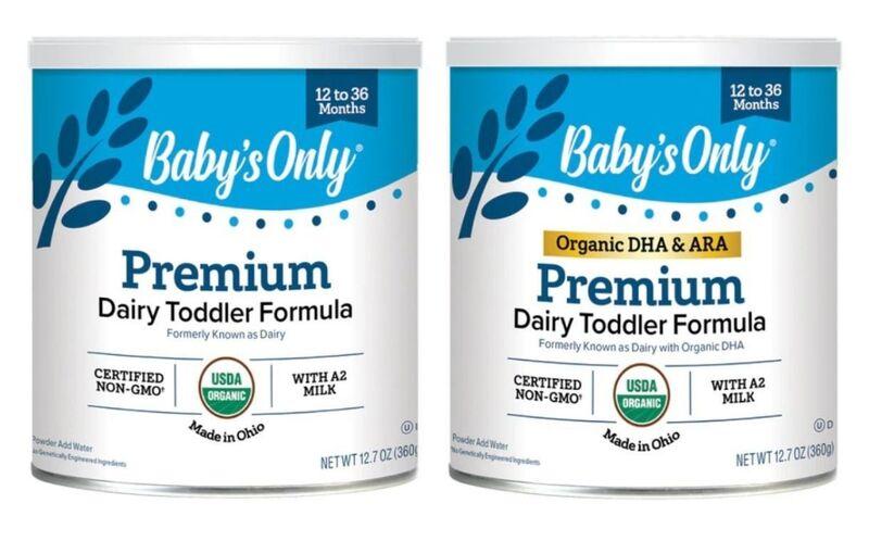 Easily Digestible Toddler Formulas