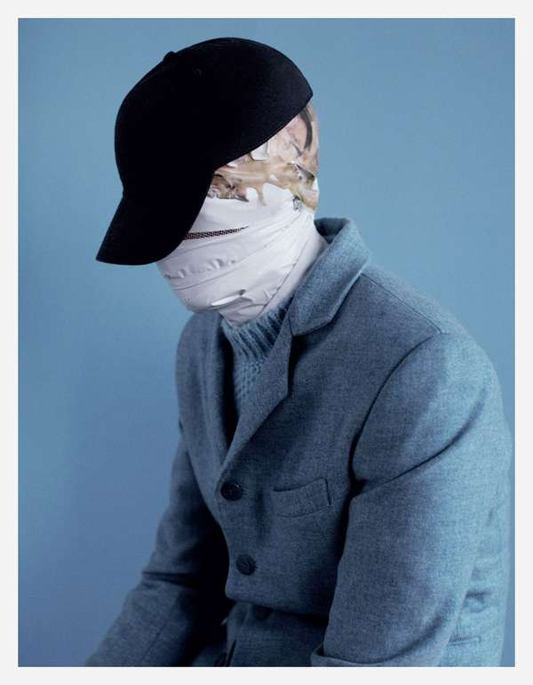 Face-Wrapped Editorials