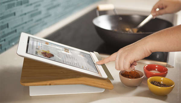 design a kitchen on ipad kitchen ready tablet docks prep step stand 364