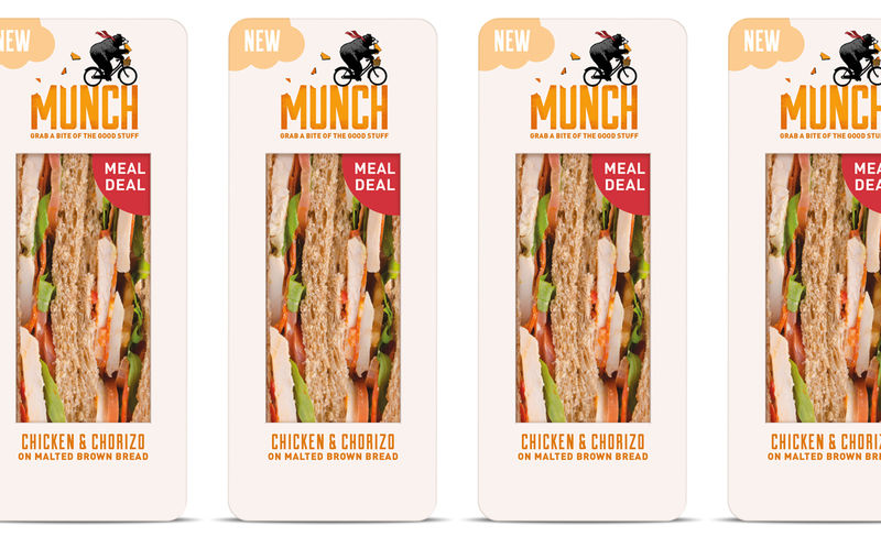 See-Through Sandwich Packaging