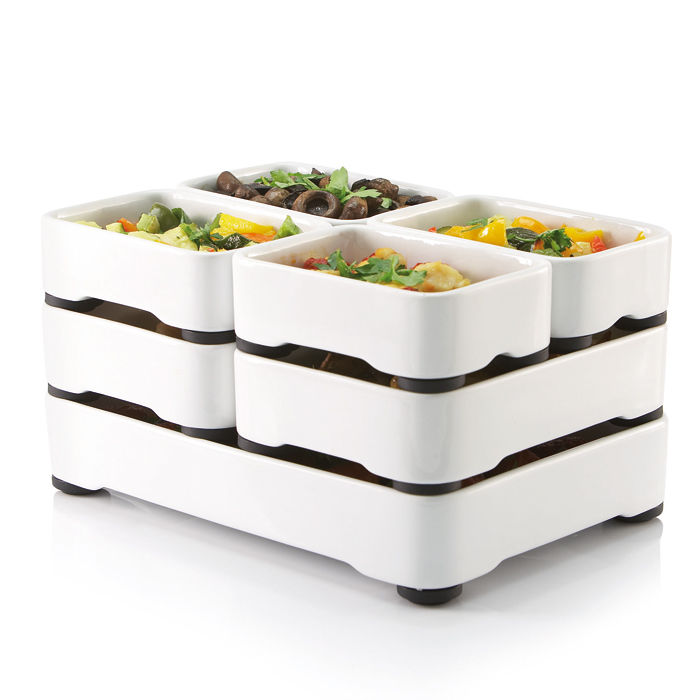 Tiered Multi-Meal Cookware