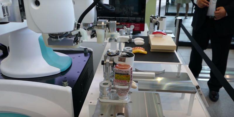 Sushi-Making Robots