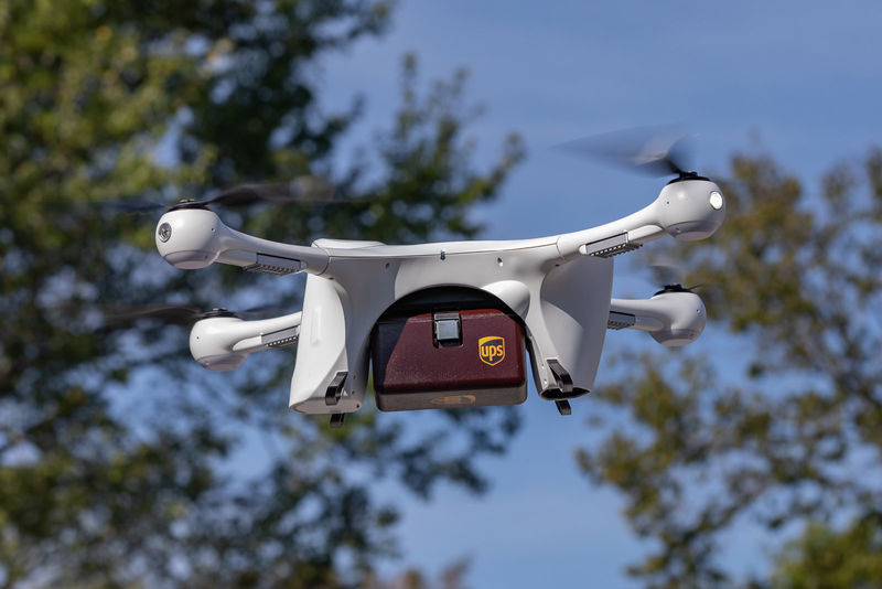 Drone Package Delivery Services